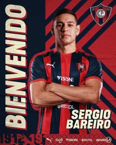 Cerro presenta a su nuevo refuerzo: Sergio Bareiro