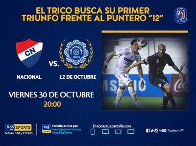 Nacional y 12 de Octubre abren la tercera fecha
