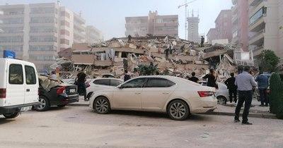 La Nación / Fuerte sismo de magnitud 7 en el oeste de Turquía