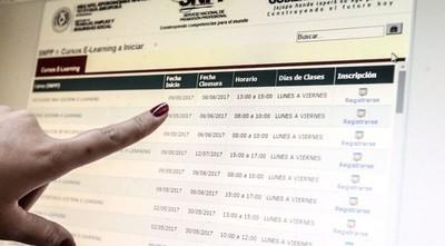 SNPP LANZA 1.000 CURSOS GRATUITOS, ADEMÁS DE NUEVAS PROPUESTAS ACADÉMICAS