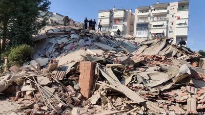 Reportan fuerte terremoto en Turquía y Grecia