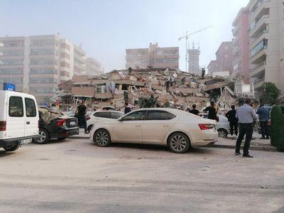 Fuerte sismo en Turquía