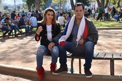 """Rodolfo Friedmann es inocente y yo también""- Marly Figueredo"