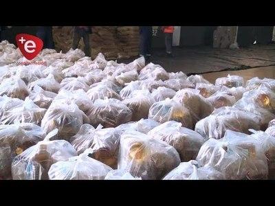 Sigue preparación de kits para distribución a familias afectadas por el cierre del paso fronterizo