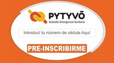 Pre-Inscripción a Pytyvo 2.0 [Noviembre y Diciembre]