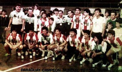 Hazaña sin precedentes: A 32 años del primer campeonato mundial de Paraguay en Fútbol de Salón