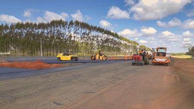 Etapa final de los trabajos entre Oviedo y el desvío a Troche, en la APP de Ruta PY02