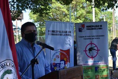 Instan a la limpieza en campaña de  prevención  el dengue, en Fernando