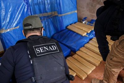 Incautan 140 kilos de marihuana en Pedro Juan