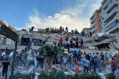 Suman 27 muertos en Grecia y Turquía tras terremoto