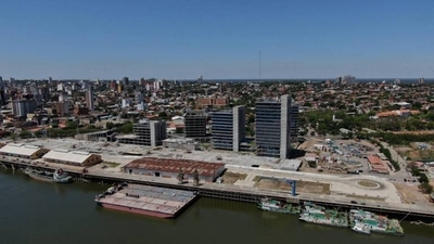HOY / Obras en el Puerto:oficinas de Gobierno al 74 % de ejecución