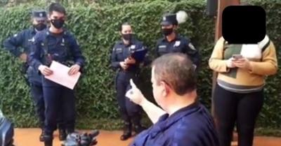 Friedmann querelló a policías que allanaron su casa