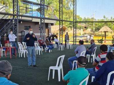 Realizan reunión pública con pobladores y autoridades sobre proyecto de línea de 500 kV en Yguazú
