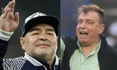 """Maradona le recordó a Almeida la """"Coca"""" que le debía luego de 33 años"""