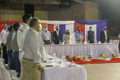 Construirán plazas deportivas en los 21 municipios de San Pedro