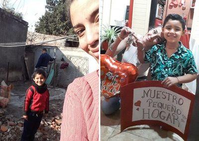¡Es viral! Emotiva historia de una joven mamá que logró cumplir su más grande sueño: Una casita llena de amor