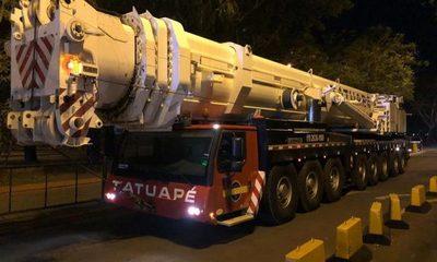 Llegan al lado paraguayo vigas metálicas para el Puente de la Integración