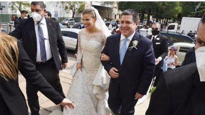 Violación de cuarentena en boda de Sol Cartes termina con pago de G. 15 millones