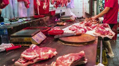 Autoridades chinas advierten de la presencia de COVID-19 en envases de carne de cerdo importados de Brasil