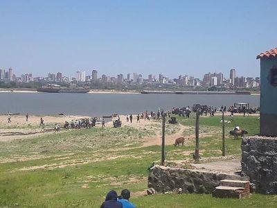 Más de un centenar de personas invaden terrenos en Chaco'i