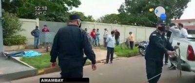 Asesinan a brasileño en Pedro Juan Caballero