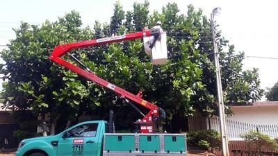 Ande prosigue tareas de mantenimiento eléctrico en Alto Paraná