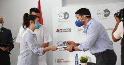 La Nación / Municipalidad de Asunción reconoció a participantes del Festival de la Juventud