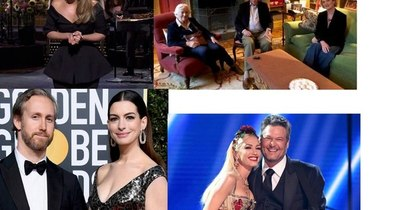 La Nación / Adele se divierte, reunión padre e hija, Anne y su bebé y Gwen da el ¡Sí, quiero!