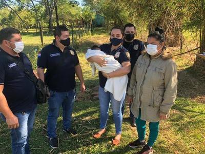 Caso bebé rescatado en Caaguazú: Aprehendida declarará esta tarde, señala fiscala