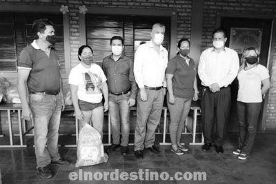Desde el martes 27 la Municipalidad de Pedro Juan Caballero inició la segunda entrega de kits de alimentos en escuelas