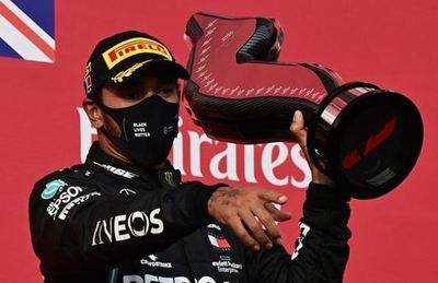 Lewis Hamilton gana el Gran Premio de Emilia Romaña