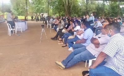 """Frente Guasu profundiza debate sobre """"recuperación de tierras malhabidas"""""""
