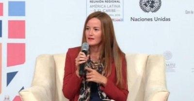 """La Nación / Fonavis debe ser """"fortalecido con control y transparencia"""", según Soledad Núñez"""