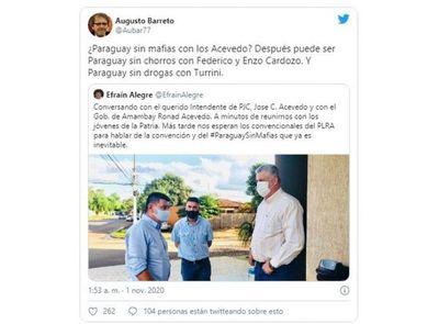 """""""Paraguay sin mafias ¿con los Acevedo?"""