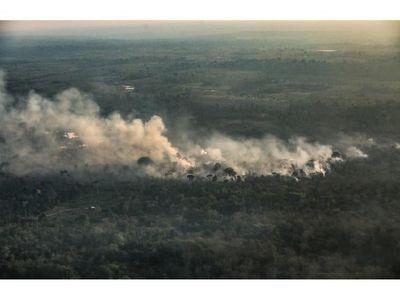 Los incendios en la Amazonia  crecieron un 120% en octubre