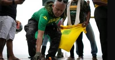 Simpatizantes de Bolsonaro protestan en Brasil contra vacuna para el coronavirus