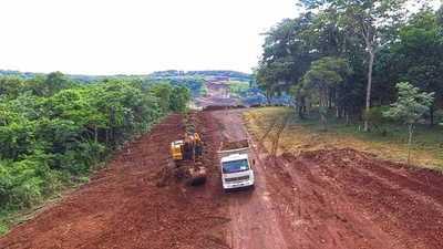 Comienzan los primeros trabajos en la zona de obras del segundo puente