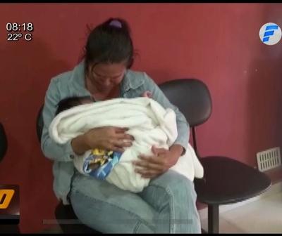 Rescatan a bebé robado en Caaguazú