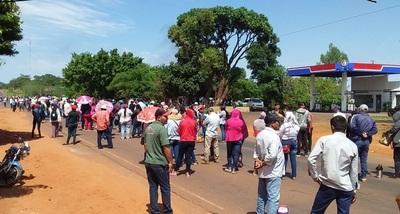 En Arroyito cierran exigiendo presencia del estado