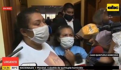 """""""Quiero abrazar a mi hija"""", dice Araceli Sosa tras absolución"""