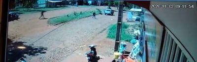 Policía fue herido en enfrentamiento con bandidos que se preparaban para asalto
