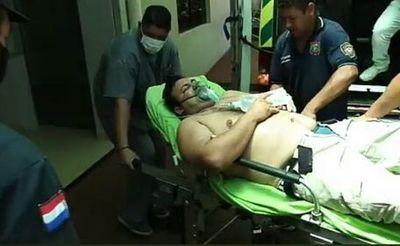 Policía resulta herido durante una balacera en Ciudad del Este