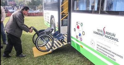 Pasaje de transporte público es gratuito para personas con discapacidad, aseguran