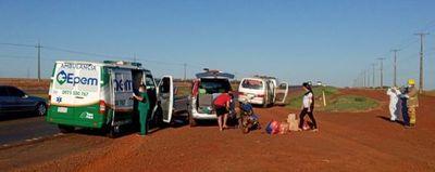 Médicos preocupados por el repunte de accidentes de tránsito