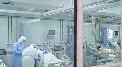 Ocupación de camas de terapia intensiva en Central llega al 90% y a nivel país al 75%