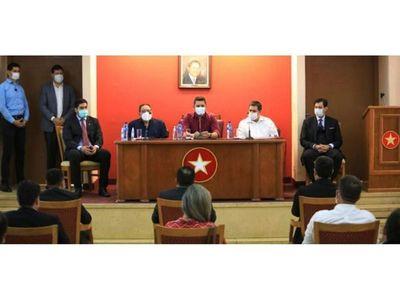 Cartes lidera reunión para la   convención que prorrogará mandato
