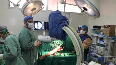 Mediante nuevo equipo se realizaron 50 cirugías percutáneas en Salto del Guairá