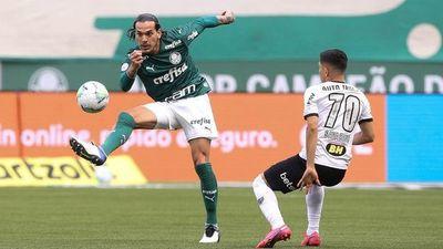 Duelo de selección: El Palmeiras de Gómez goleó al Mineiro de Alonso