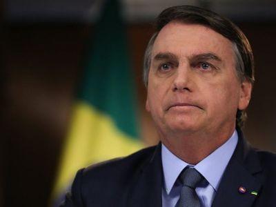 """Jair Bolsonaro advierte """"injerencia externa"""" en elección de EEUU"""