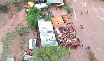 Más de 50 viviendas afectadas por temporal